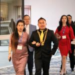Guests Arriving at Leadership Banquet