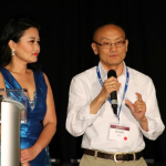 Business Pitch Committee Co-Chairs Manee Moua and Blong Lee